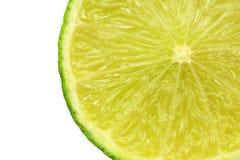Slice of lime fruit Stock Photo