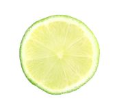 Slice of lime. Stock Photo