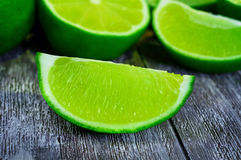 Slice  lime Royalty Free Stock Image