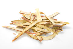 Slice liquorice roots Stock Images