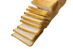 Slice loaf bread Royalty Free Stock Photo