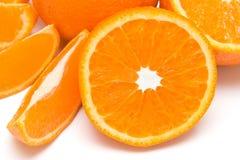 Slice of mandarin. The slice of mandarin fruit Royalty Free Stock Photos