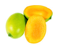 Slice Mango Royalty Free Stock Photos