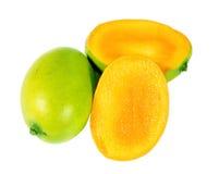 Slice Mango Royalty Free Stock Photos