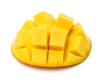 Slice of mango Stock Photo