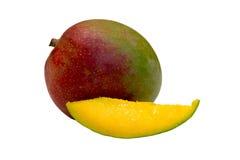 Slice of mango Stock Photos