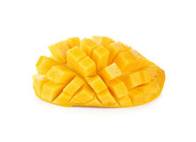 Slice of mango Royalty Free Stock Photos