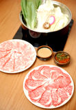 Slice meat Royalty Free Stock Photos