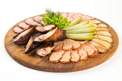 Slice of meat Stock Images