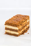 A slice of mille-feuille Royalty Free Stock Photos