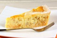 Slice of Neapolitan Pastiera tart Stock Image