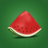 Slice of nice fresh watermelon Stock Photography