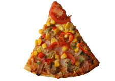 Slice Of Home Made Pizza Royalty Free Stock Images