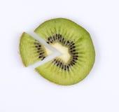 Slice Of Kiwi. Fruit Pie Chart Royalty Free Stock Images
