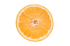 Slice the orange Stock Photo