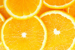 Slice of orange Stock Images