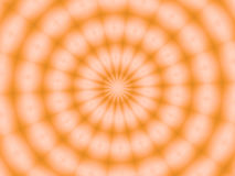 A slice of orange Stock Image