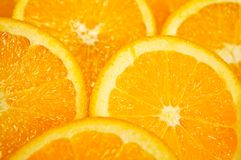 Slice orange Stock Image