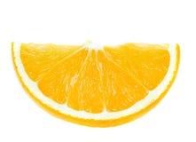 Slice of orange Royalty Free Stock Photography