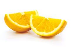 Slice of orange Stock Photography