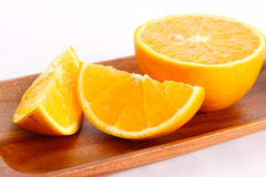 Slice Orange Stock Photography