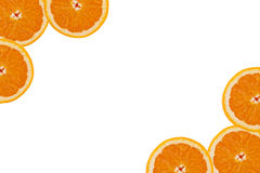 A slice of orange Royalty Free Stock Images