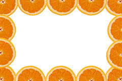 A slice of orange Royalty Free Stock Photos