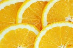 Slice of orange. Natural background: slice of orange stock photo