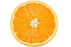 Slice of orange. Isolated on white Royalty Free Stock Photo