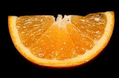 Slice of orange Royalty Free Stock Image