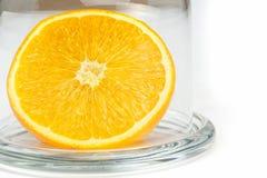 Slice of an orange Stock Photography