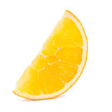Slice of orange fruit Royalty Free Stock Image
