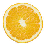 Slice of orange isolated on white Stock Image