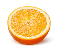 Slice of orange isolated on white Stock Images
