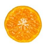 Slice of orange Stock Photos