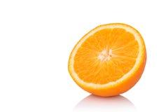 Slice orange isolated on white background Stock Images