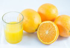 Slice orange Stock Photography