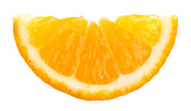 Slice of orange Royalty Free Stock Photos