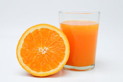 Slice of Orange Stock Photos