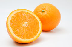 Slice of Orange Stock Photography