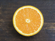 Slice of orange Stock Image