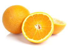 Slice of oranges Stock Images