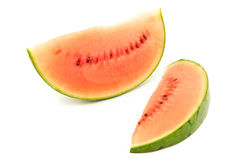 Slice of organic watermelon Royalty Free Stock Photo