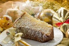 Slice pandoro Royalty Free Stock Photo