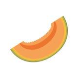 Slice papaya sweet fruit icon Royalty Free Stock Photography