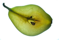 Slice of pear Stock Image