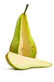 Slice of pear Stock Photo