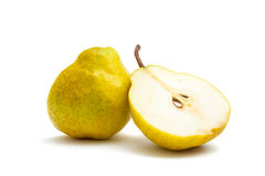 Slice of pear Royalty Free Stock Photos