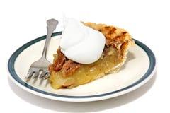 Slice of Pecan Pie royalty free stock image