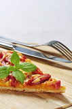 Slice of pizza Royalty Free Stock Photos